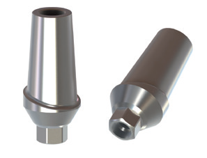 Zimmer Internal Hex 3,5 Straight Titanium Abutment