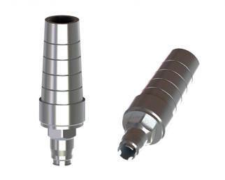 Biomet 3i Certain 5,0 Straight Titanium Abutment Engaging