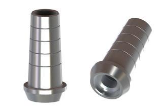 Biomet 3i Osseotite 4,1 Straight Titanium Abutment Non Engaging