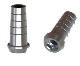BTI External Hex 4,1 Straight Titanium Abutment Engaging