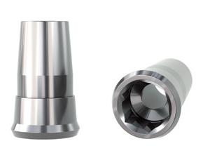 Klockner SK2 4,2 Straight Titanium Abutment Non Engaging