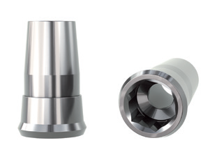 Klockner SK2 4,2 Straight Titanium Abutment Engaging