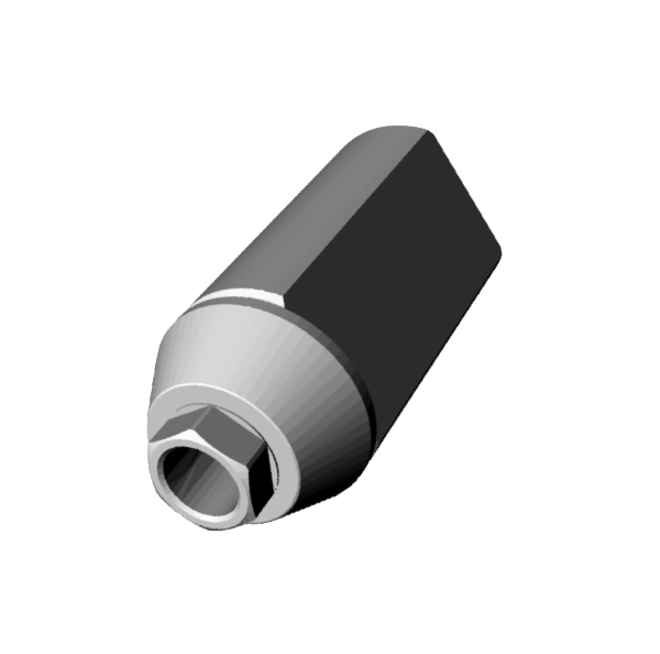 Osstem TS System Regular® Scan Jig Implant Level Engaging.