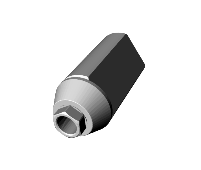 Straumann Tissue Level 6,5® Scan Jig Implant Level Engaging.