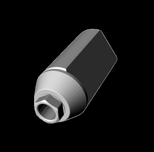 Straumann Bone Level 3,3® Scan Jig Implant Level Engaging.
